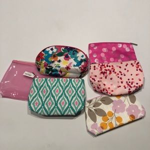 🦈 Clinique bundle of 6 new cosmetic bags